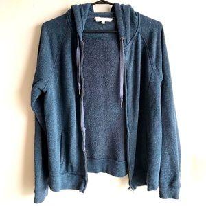 🎀Danskin Warm L Size Zipper Hoodie With Pockets